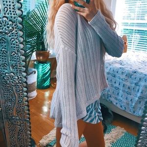 Beachy Slouchy Pullover Knit 🌿